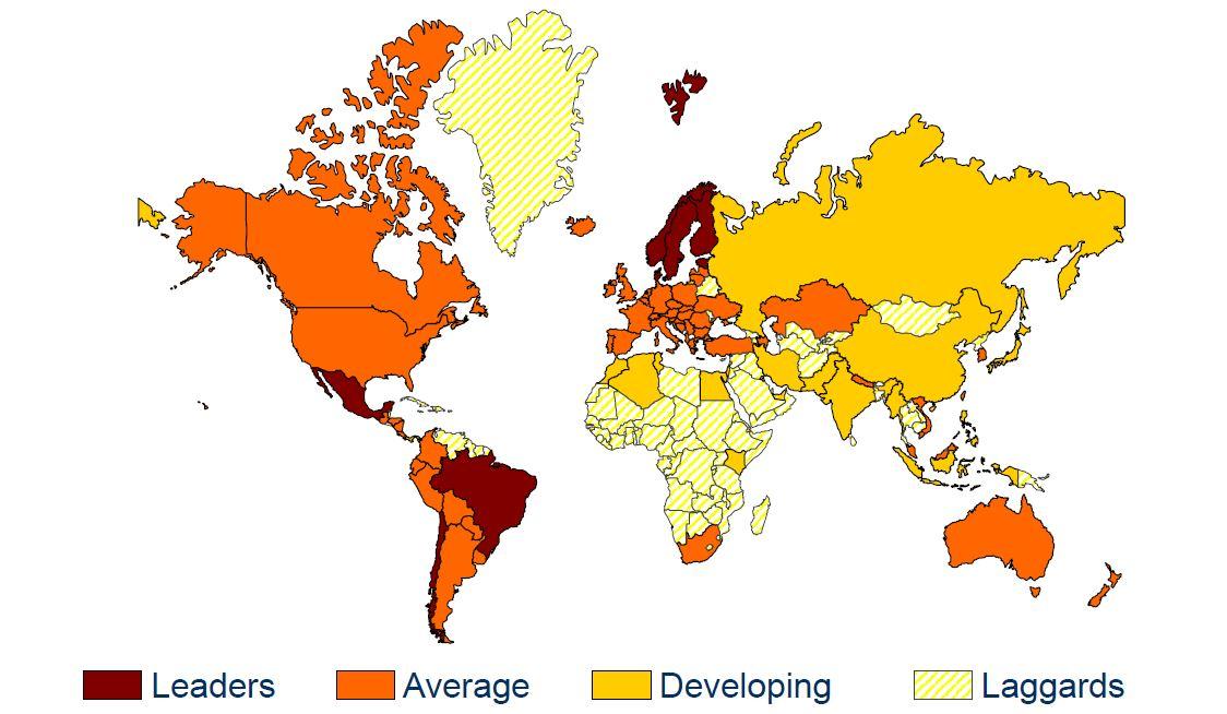 Europa y el mundo 2016. Los datos de la factura electrónica II